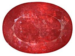 TST3058<br>Brazilian Rhodonite 28.21ct 20x15mm Oval