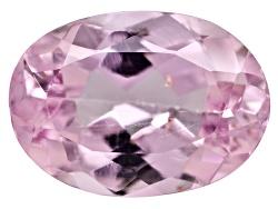 TOV084<br>Brazilian Pink Precious Topaz Min .75ct 7x5mm Oval