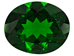 CDV487<br>Russian Chrome Diopside Minimum 2.25ct 10x8mm Oval