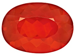 FOV511<br>Colheita Fire Opal(Tm) Brasa Color Avg 8.00ct 18x13mm Oval