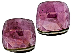 TW044<br>Matched Pair Of Saribia Tourmaline(Tm) Min 50ctw Mm Varies Faceted Free Form Shape/Size/Col
