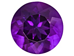 ASR002<br>UNTREATED Amethyst AVG 1.50CT 8MM ROUND