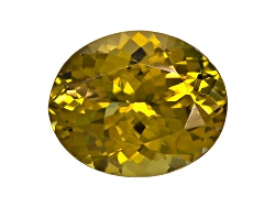 GZV008<br>Untreated Tanzanian Golden Zoisite Minimum 3.50ct 11x9mm Oval