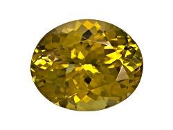 GZV008<br>Untreated Tanzanian Golden Zoisite Minimum 3.50ct 11x9mm Oval