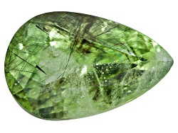 Q1P017<br>Pakistani Ludwigite In Peridot Avg 7.00ct Mm Varies Pear Shape