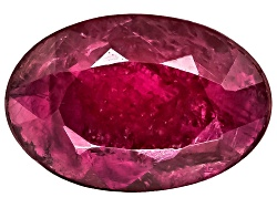 RBV404<br>Burmese Ruby Min .30ct 6x4mm Oval