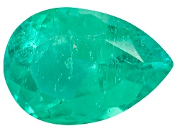 EMP542<br>Colombian Emerald Min .30ct Mm Varies Pear Shape