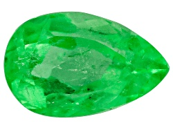 EMP615<br>Colombian Emerald Min 1.00ct Mm Varies Pear Shape
