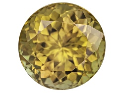 GZR035<br>Untreated Tanzanian Golden Zoisite 3.77ct 9mm Round