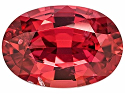 XTP168<br>Vietnamese Vivid Red Spinel 1.09ct 7.93x5.42x3.33mm Oval With Gemworld Verification Report
