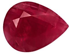 RBP060<br>Burmese Ruby Min 1.50ct 8x6mm Pear Shape