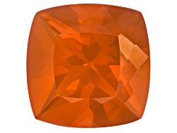 FOC522<br>Colheita Fire Opal(Tm) Brasa Color Min 11.50ct 17mm Square Cushion