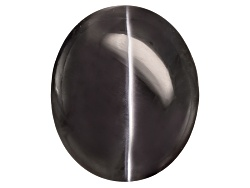 EXK1094<br>Orissa Cats Eye Sillimanite 7.69ct 11.85x9.9mm Oval Cabochon