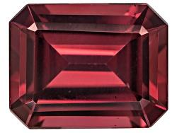 RUE008<br>Tanzanian Raspberry Rhodolite Garnet Min 2.50ct 9x7mm Emerald Cut