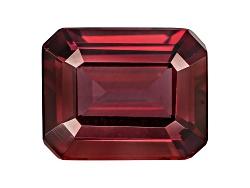 RUE042<br>Tanzanian Raspberry Rhodolite Garnet Min 4.50ct 11x9mm Emerald Cut.