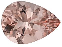 MG023<br>Cor-de-rosa Morganite (Tm) Minimum 10.60ct 18.50x13.50mm Pear Shape Mixed Cut