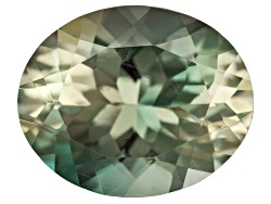 SN065<br>Green Oregon Sunstone From Butte Mine 2.85ct Minimum 11x9mm Oval Mixed Cut Color Varies
