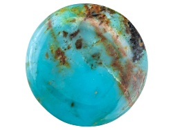TR030<br>Kingman Turquoise 10mm Round Tehya Oyama Turquoise(Tm)