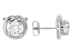 RRB260W<br>Remy Rotenier For Bella Luce (R) 3.52ctw Remy Cut Round Rhodium Over Sterling Silver kno
