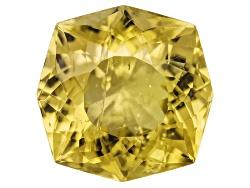 AC127<br>Madagascar Canary Apatite Minimum 3.00ct 9mm Glitter Mine Cut