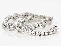 VKB647<br>Vanna K (Tm) For Bella Luce (R) 7.84ctw Platineve (Tm) Bracelet (5.18ctw Dew)