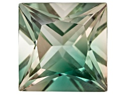 SN097<br>Green Oregon Sunstone From Butte Mine 1.90ct Minimum 8mm Square Princess Cut Color Varies