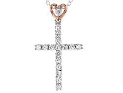 MCB025<br>Michael O' Connor For Bella Luce (R)Diamond Simulant Rhodium Over Sterling & Eterno(Tm)Pen