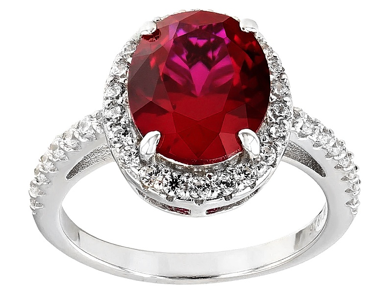 Charles Winston For Bella Luce (R) Lab Created Ruby ...