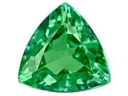 TS060<br>Tanzanian Tsavorite Garnet .40ct Minimum 5mm Trillion