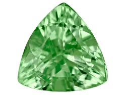 TS064<br>Tanzanian Tsavorite Garnet .25ct Minimum 4.5mm Trillion