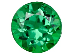 TS209<br>Tanzanian Tsavorite Garnet .30ct Minimum 4mm Round